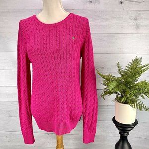 Lilly Pulitzer Womens Pink Sweater sz XL